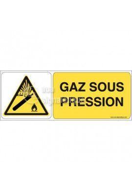 Panneau Gaz Sous Pression