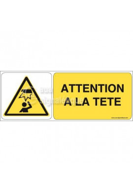 Panneau Attention à la Tête 02