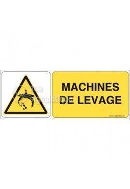 Panneau Machines de Levage