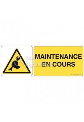 Panneau Maintenance En Cours 02