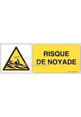 Panneau Risque de Noyade 02
