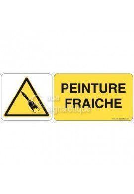 Panneau Peinture Fraîche