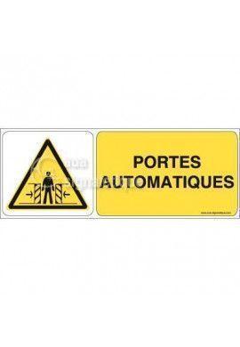 Panneau Portes Automatiques