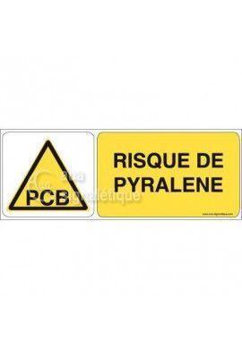 Panneau Risque de Pyralène 02