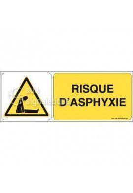 Panneau Risque d'Asphyxie 02