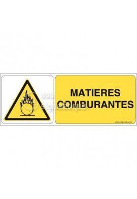 Panneau Matières Comburantes 02