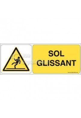 Panneau Sol Glissant 02
