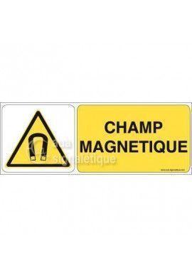 Panneau Champ Magnétique