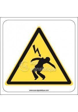 Panneau Danger électrique, Mort