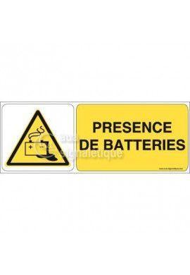 Panneau Présence de Batteries 02