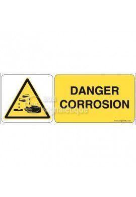 Panneau Danger Corrosion 02