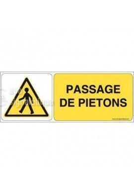 Panneau Passage de Piétons