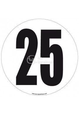 Disque de Limitation - 25