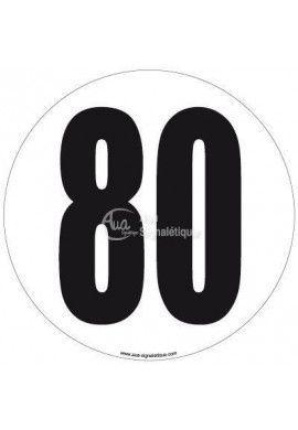 Disque de Limitation - 80