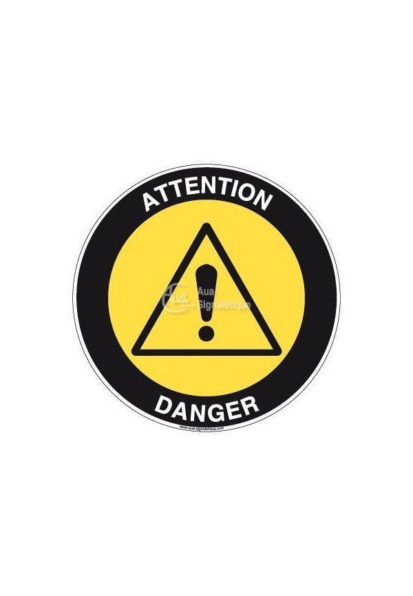 Panneau Attention Danger - R