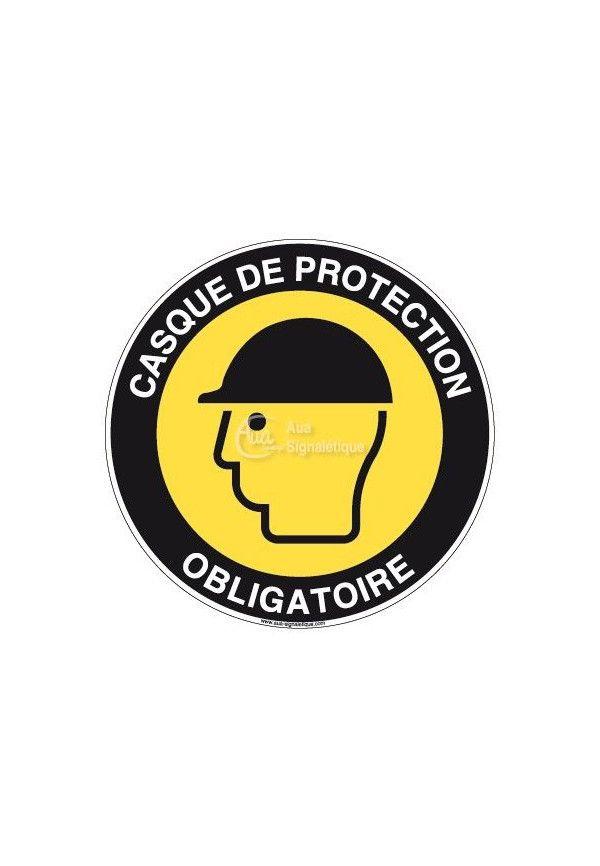 Panneau Casque de Protection - R
