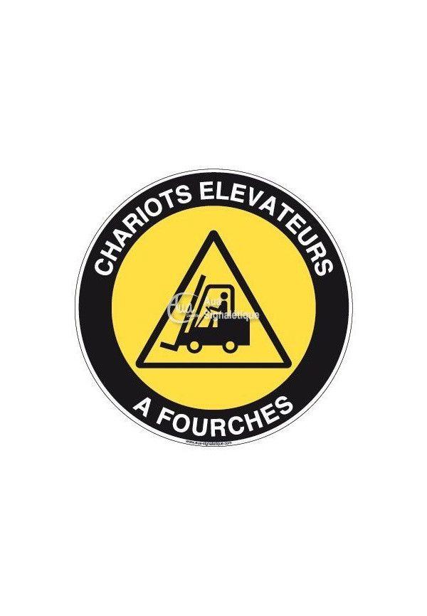 Panneau Chariots Elévateurs - R
