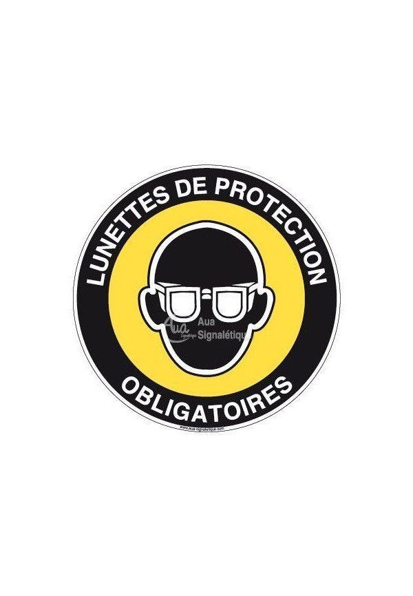 Panneau Lunettes De Protection - R