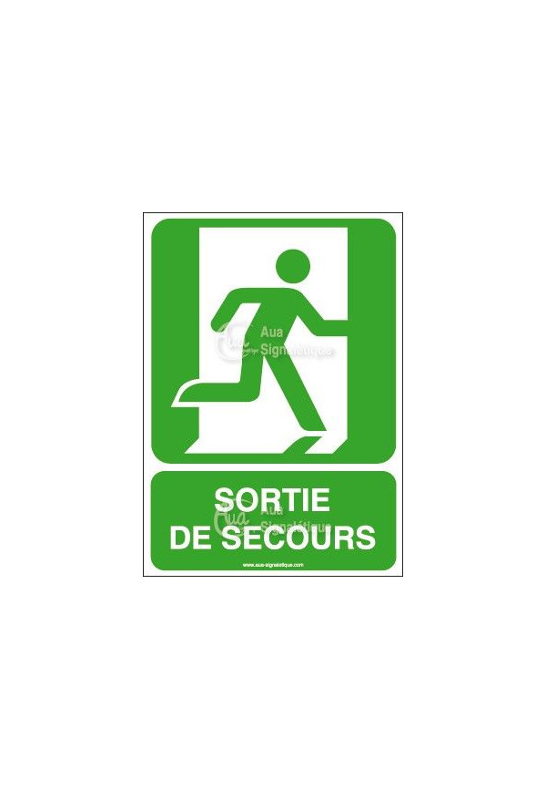Panneau Sortie De Secours - AI
