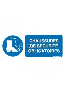Panneau Chaussures De Sécurité- B