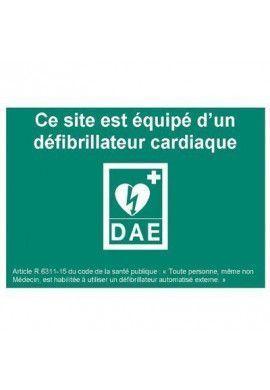 Signalisation défibrillateur DAE - Modèle 4