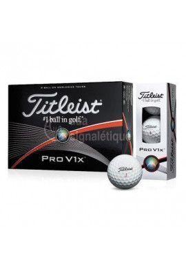 Balle de golf Titleist Pro V1X logotée - 7 Douzaines