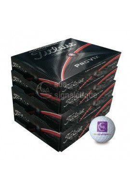 Balle de golf Titleist Pro V1X logotée - 4 Douzaines